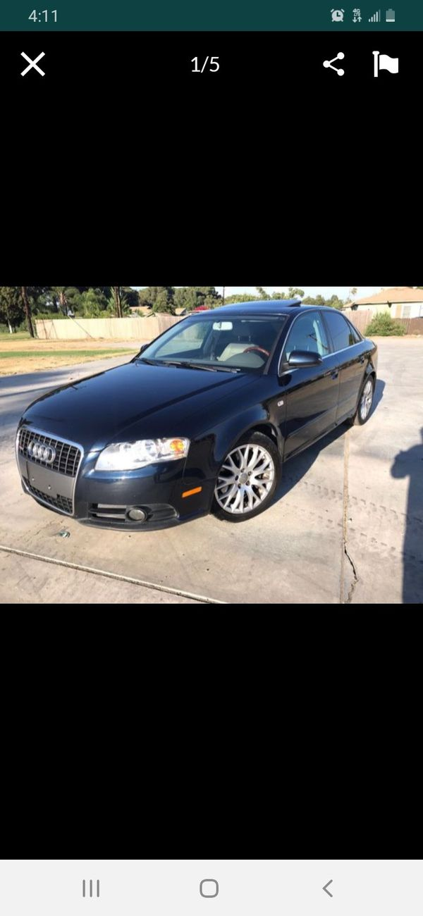 2008 Audi A4 2 0t S Line For Sale In Moreno Valley  Ca