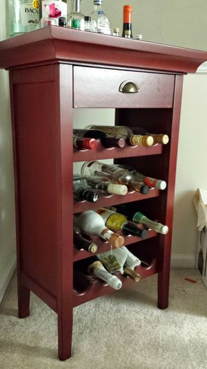 Bar/wine rack for Sale in Manassas, VA
