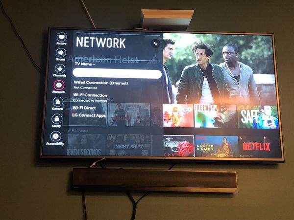 55 inch lg tv webos tv uh6035 for Sale in Queens, NY - OfferUp