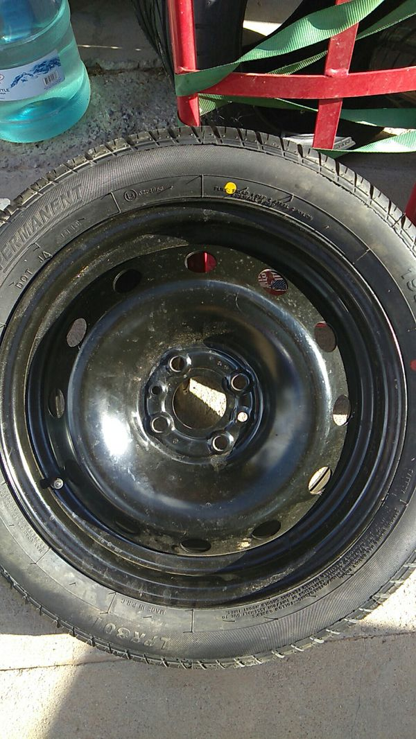 brand new spare tire with rim 195/50/r15 for fiat 500