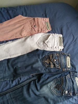 Photo 10 pair womens rock size 24 and 25