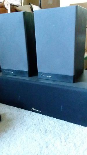 2 bookshelve & 1 center channel speaker for Sale in Jamul, CA