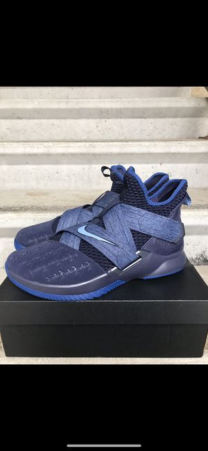 promo code 17cb4 229a2 Brand New Nike Lebron Soldier XII Size 12 Men Dark Blue 85$ Firm Retail at  185$+Tax for Sale in Bakersfield, CA - OfferUp