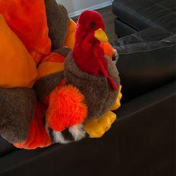 Turkey Plush - Happy Thanksgiving Thumbnail