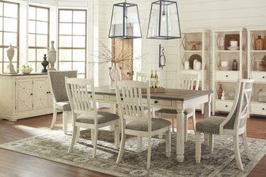 Bolanburg Antique White/Oak Dining Room Set | D647 ASHLEY Thumbnail