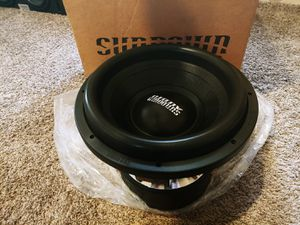 Photo 12 Sundown Audio X12 V2 Custom Subwoofer