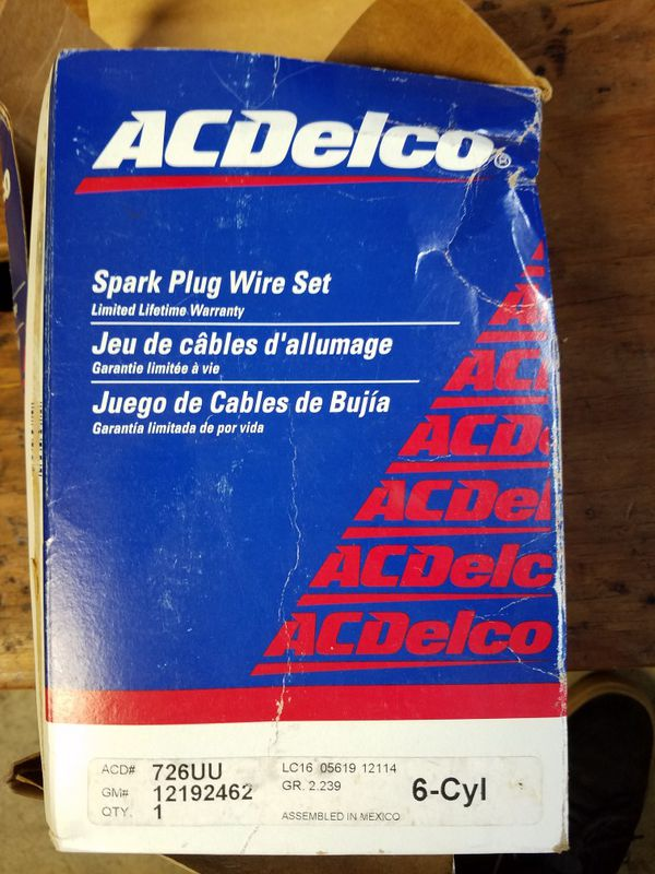 Ac Delco Spark Plug Wires on