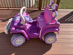 Photo Princess Jeep with (new rechargeable motorcycle battery)