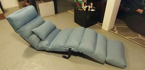 Used, Best Choice Products Folding Floor Lounge Sofa Chair w/Pillow for sale  Fayetteville, AR