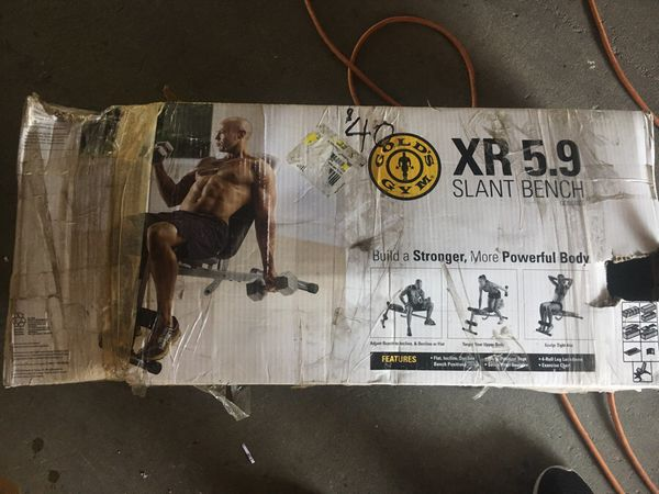 Golds Gym Xr 5 9 Slant Bench For Sale In Los Angeles Ca Offerup