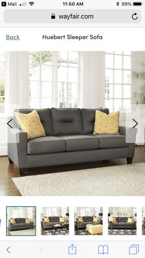 Sofa with Pull-out Queen bed (never used) for Sale in Boston, MA