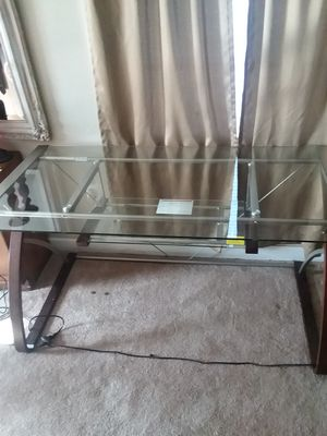 Modern glass desk for sale for Sale in TN, US