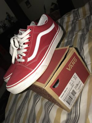 Red vans for Sale in Washington, DC