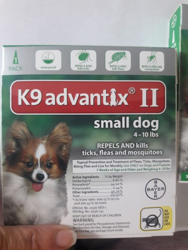 2 Pack Of Small Dog K9 Advantix 4 10 Pounds For Sale In Kissimmee