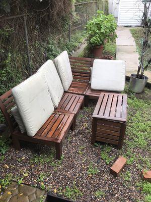 Photo Outdoor furniture set
