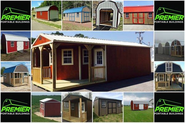 Portable storage shed buildings and cabins of all styles for Sale in Texas  City, TX - OfferUp