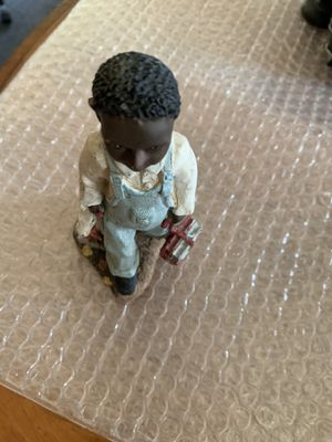 Photo African American Figurine