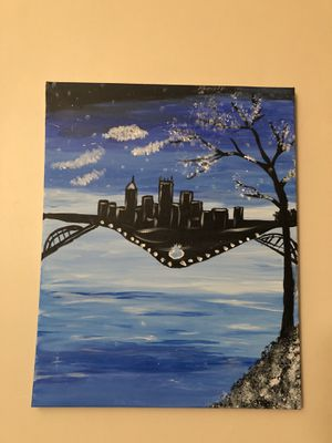 Wall painting- canvas for Sale in Pittsburgh, PA