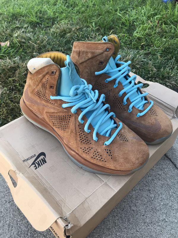 e970a2a25026 Lebron 10 hazelnut for Sale in Los Angeles