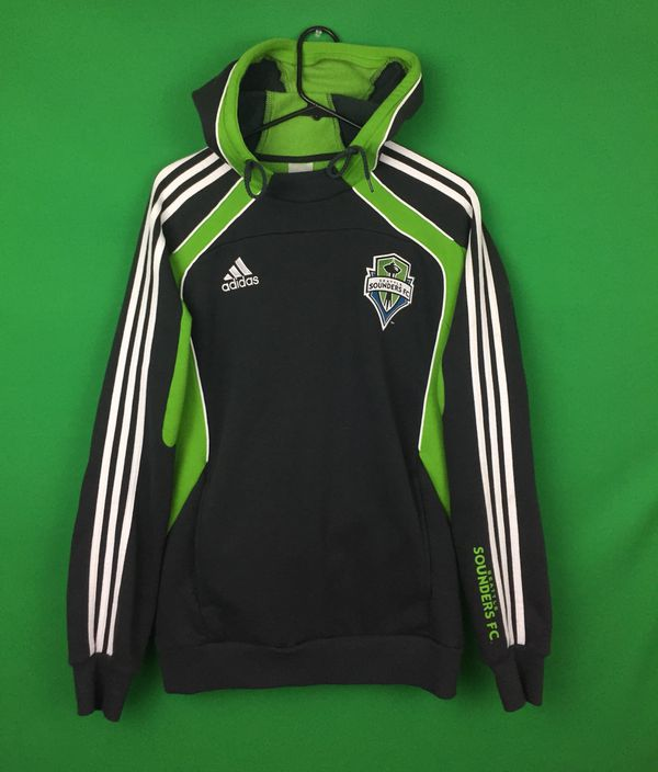 2383309b5 Seattle sounders Sweatshirt Sounders Hoodie Seattle Sounders soccer jersey  Sounders track jacket MLS soccer size men s M by Adidas