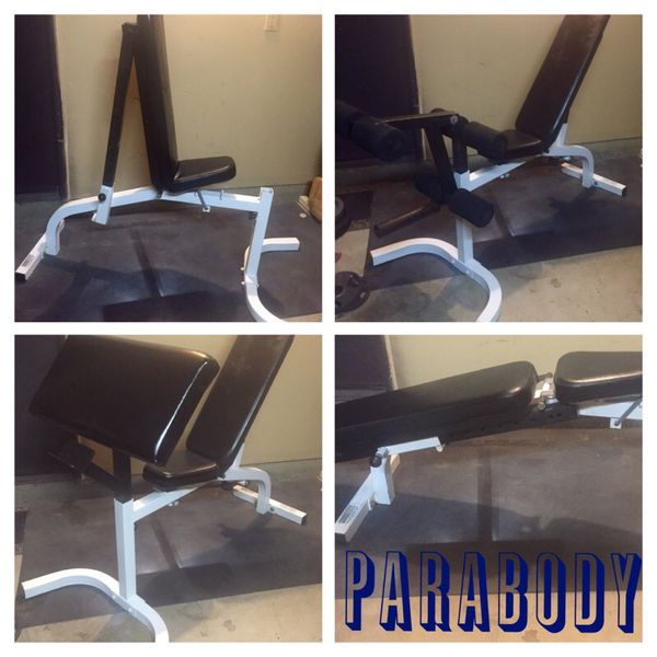 Parabody Utility Weight Bench For Sale In El Cajon Ca