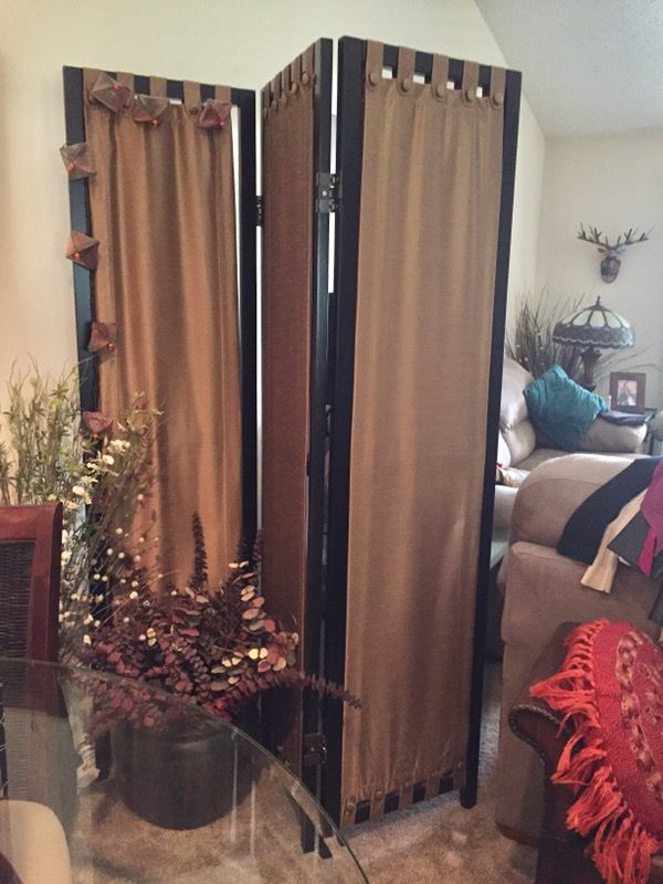 Tabique Gold Room Divider from Pier 1 Imports for Sale in Sarasota