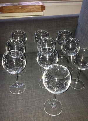 Set of 10 Wine 🍷 Glasses. Please See All The Pictures and Read the description for Sale in Alexandria, VA