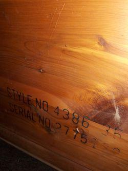 Lane Altavista, VA Wood Chest Thumbnail