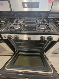 Ge Gas Stove Used Good Condition With 90day's Warranty  Thumbnail