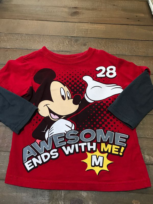 13e4218e 2T Disney Mickey Mouse Clubhouse L/S red shirt - $5!! for Sale in ...