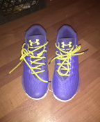 Curry dub nation under armour shoes for Sale in San Francisco, CA