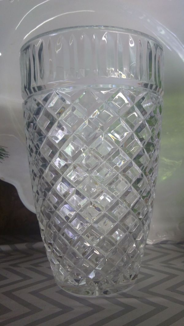 Waterford Crystal 10 12 In Vase For Sale In Sanford Nc Offerup