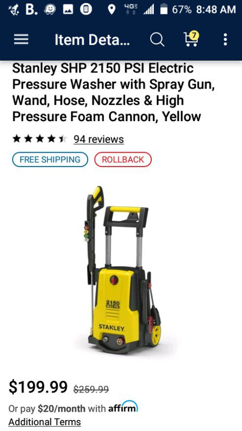 New and Used Pressure washer for Sale in Garland, TX - OfferUp