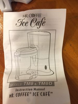 Brand New MR COFFEE ICED CAFE! Ice brewed coffee at home! for Sale in Orland Park, IL