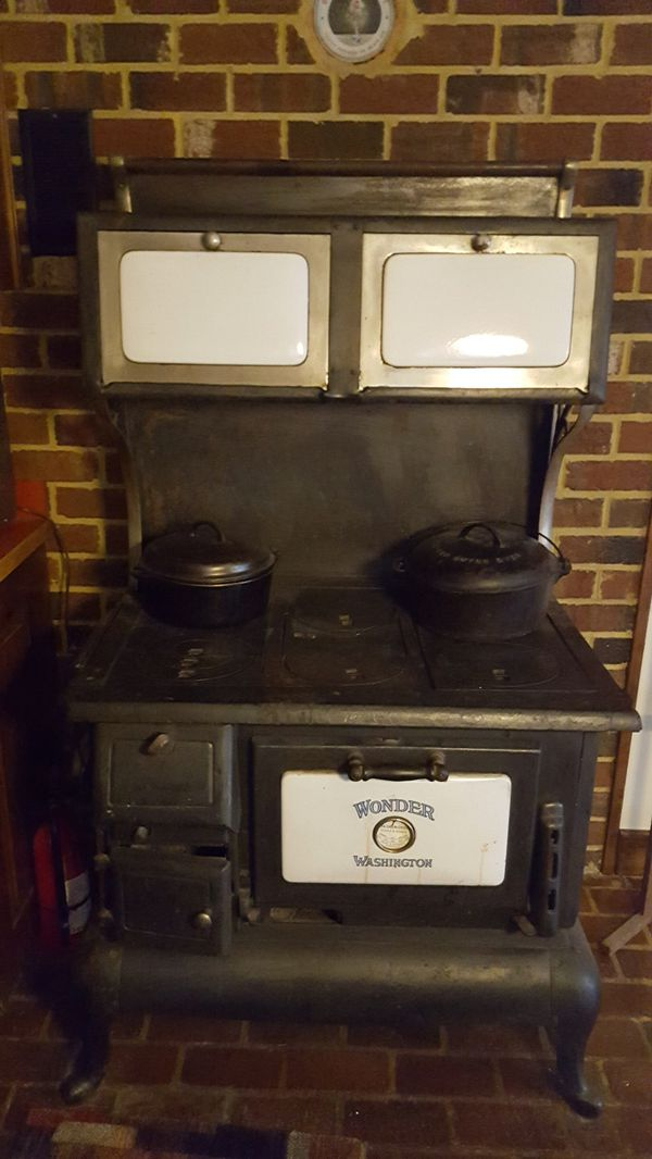 Antique Wood Burning Stove For Sale In Bremerton Wa Offerup