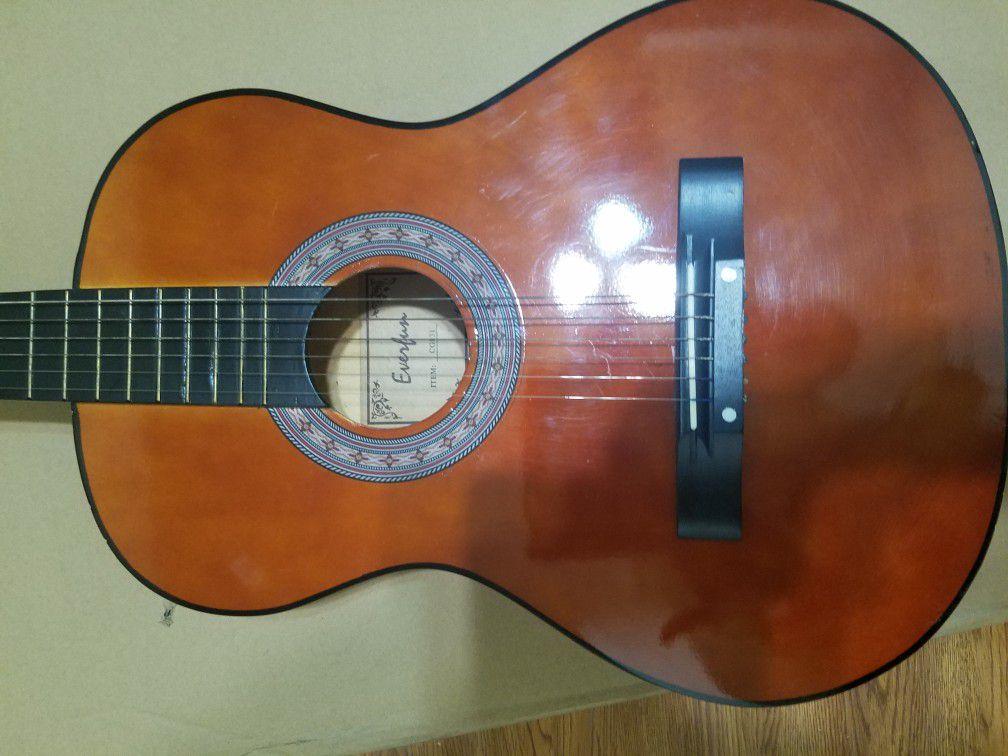 Left hand acustic guitar/Ofrecemos clases de Canto, Guitarra y Keyboard
