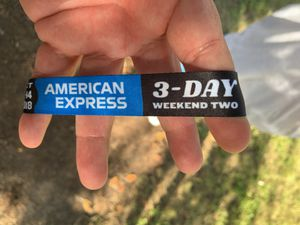 ACL WRISTBAND - AMERICAN EXPRESS PASS for Sale in Austin, TX