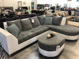 Sectional Sofa With Round Chaise For In Miami Fl
