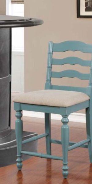 Photo New!! Barstool, bar stool, kitchen stool, kitchen barstool, solid wood legs and back upholstered fabric seat barstool , dinning room barstool, kitch