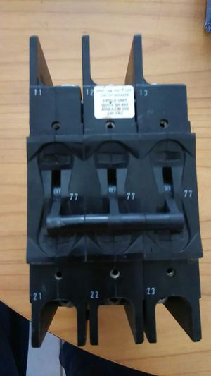 3 pole special circuit breaker 240 v for Sale in Hialeah, FL