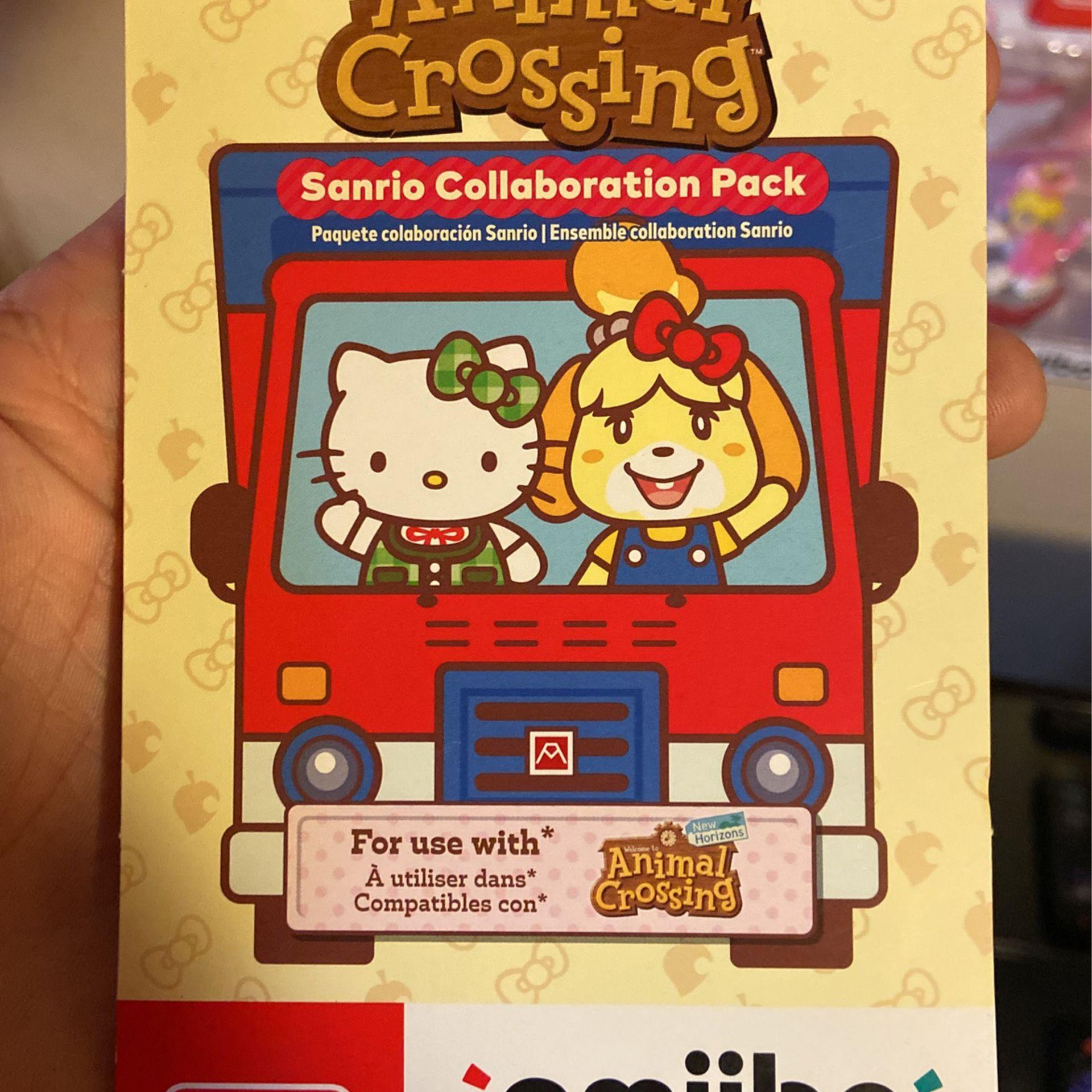 sanrio animal crossing amiibo cards