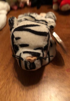 TY Beanie Baby Blizzard the Tiger! for Sale in Lemoore, CA