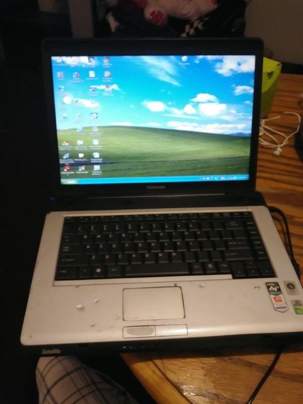 Toshiba laptop Windows XP for Sale in Cincinnati, OH - OfferUp