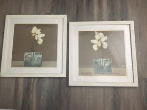 Double-Matted Floral Prints for Sale in Alexandria, VA