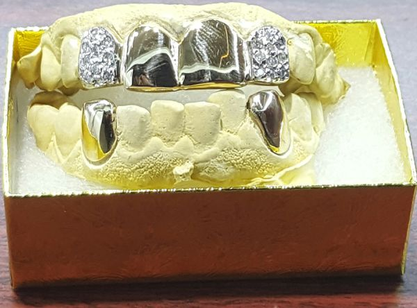 8k 10k 14k 18k Gold Teeth Grillz Permanent Also Available Jewelry Accessories In Arlington Tx Offerup