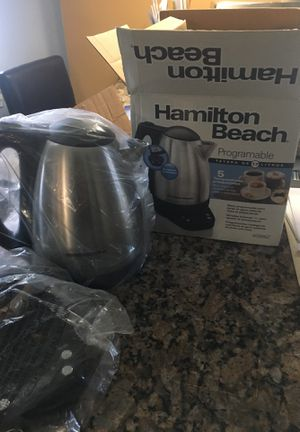 Hamilton beach coffee maker for Sale in Washington, DC