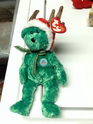 2002 holiday beanie baby bear for Sale in Alexandria, VA