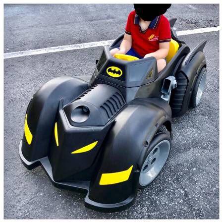 Batman Batmobile 6 Volt Battery Ed Ride On Electric Car