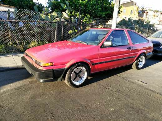1986 toyota corolla sr5 ae86 for sale in los angeles ca offerup. Black Bedroom Furniture Sets. Home Design Ideas