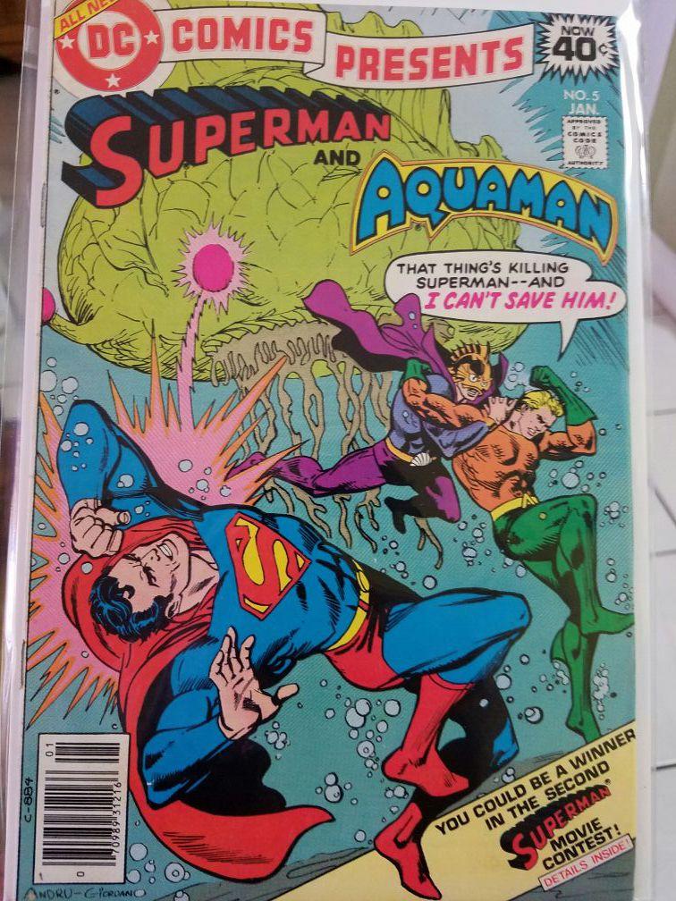DC Comics Presents Superman & Aquaman #5 (Jan. 1979)
